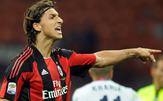 Milan Striker Zlatan Ibrahimovic Admits Struggle With Injury