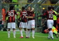 Ronaldinho (M), Robinho (M), Pirlo (M),  Seedorf (M) - Parma-Milan - Serie A (Getty Images)