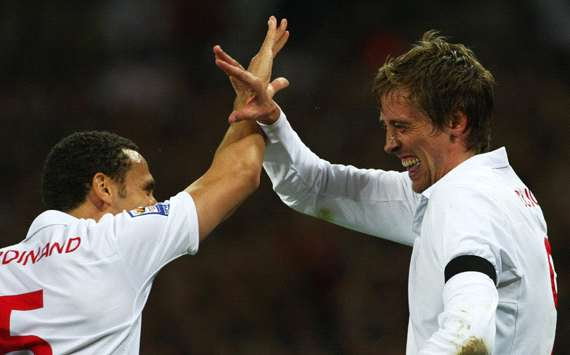 Peter Crouch Happy To Have Made An Impact For England Despite Defeat To France