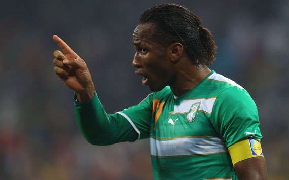 Didier Drogba - Ivory Coast (Getty Images)