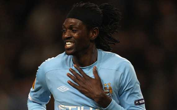 Adebayor & Santa Cruz on their way as Manchester City's much-needed summer clear-out begins