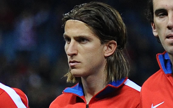 Filipe Luis dreaming of Brazil recall