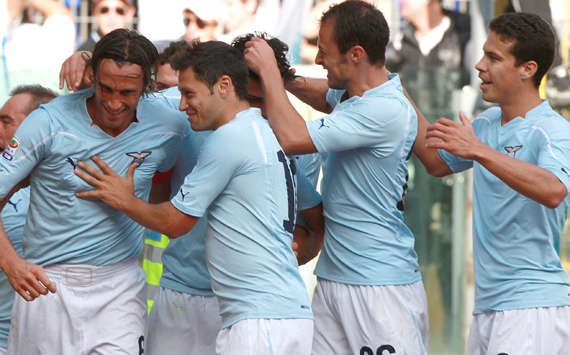 Lazio celebrating (Getty Images)