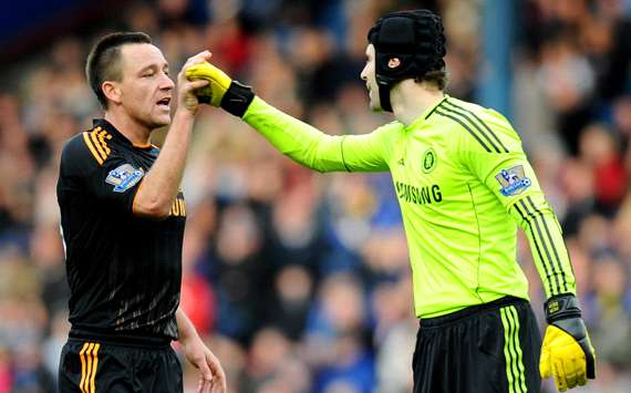 EPL ; Petr Cech - John Terry ,  Blackburn Rovers and Chelsea (Getty Images)