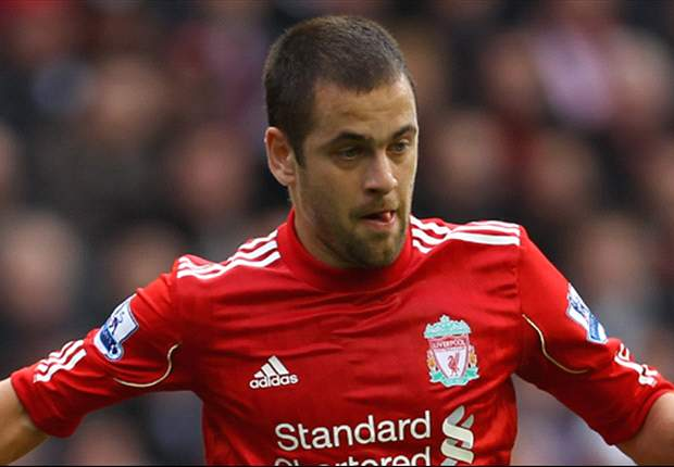 Joe Cole scores on his return for Liverpool after recovering from hamstring injury