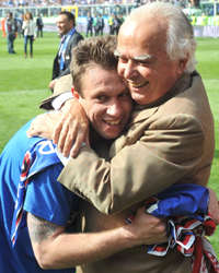 Cassano & Garrone - Sampdoria (Getty Images)