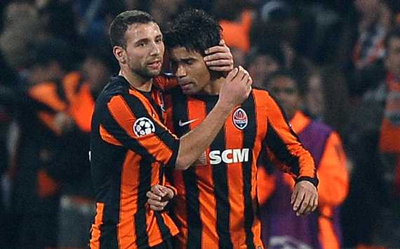 Champions League : Eduardo ,  FC Shakhtar Donetsk vs Arsenal(Getty Images)  