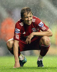 Lucas Leiva, Liverpool (Getty Images)