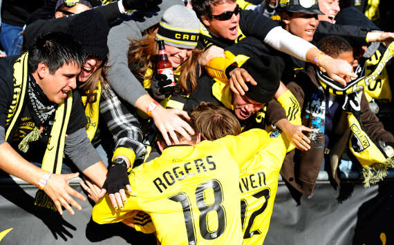 Eddie Gaven, Robbie Rogers, Columbus Crew, MLS (Getty Images)