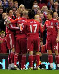 EPL ; Fernando Torres , Liverpool vs Chelsea Getty Images)