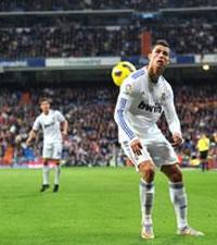 Espaldinha de Cristiano Ronaldo, Real Madrid, Atletico de Madrid