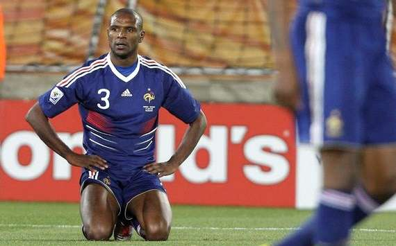 French football federation invite Abidal as guest for Sweden clash