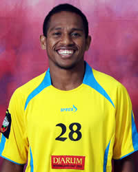 Oktovianus Maniani - Sriwijaya FC Palembang (GOAL.com/Muhammad Alfhat)