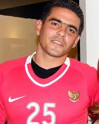 """Cristian """"El Loco"""" Gonzales - Indonesia (GOAL.com/Donny Afroni)"""