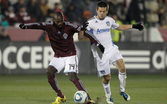Omar Cummings, Colorado Rapids; Sam Cronin, San Jose Earthquakes; MLS (Getty Images)