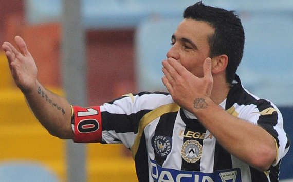 Antonio Di Natale - Udinese-Lecce - Serie A (Getty Images)