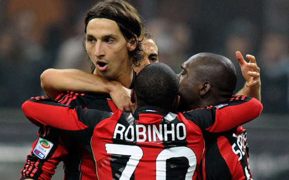 Milan celebrating (Getty Images)