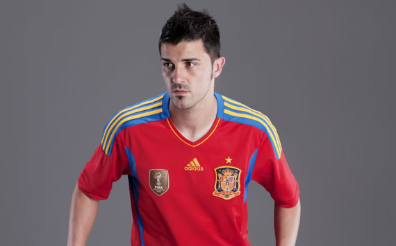 David Villa, Spain (Adidas)