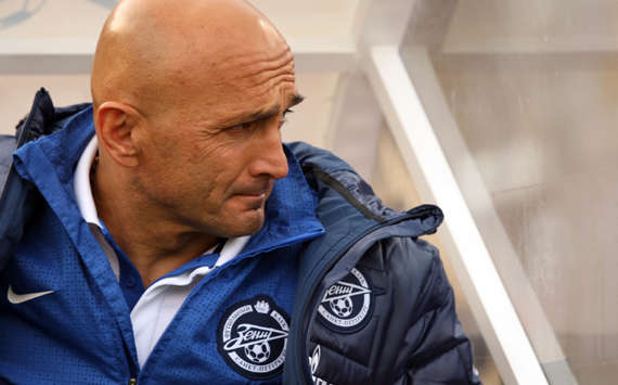 Zenit coach Luciano Spalletti appeals for calm despite poor run of form