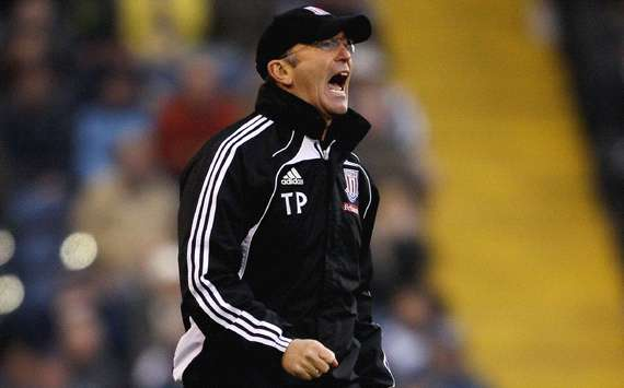 EPL ;  Tony Pulis,   West Bromwich vs Stoke City (Getty Images)