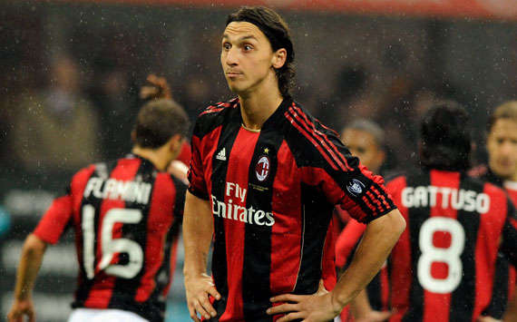 Serie A, Milan and Fiorentina, Zlatan Ibrahimovic, (Getty Images)