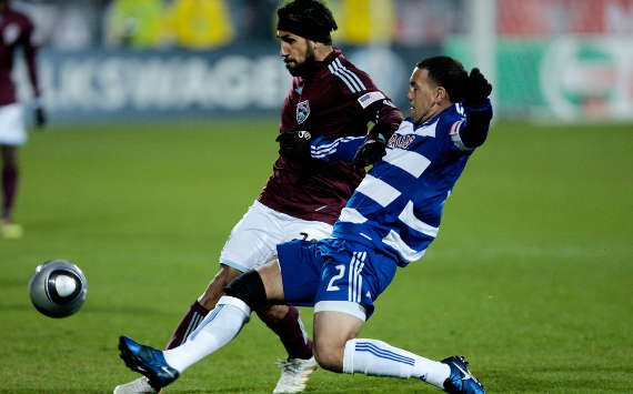 Pablo Mastroeni, Colorado Rapids; Daniel Hernandez, FC Dallas; MLS (Getty Images)