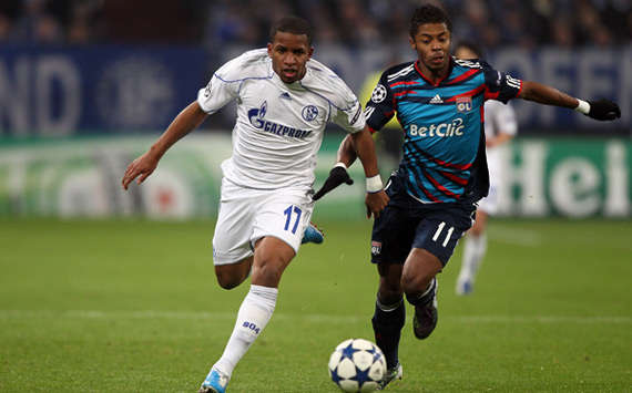 Champions League: Schalke 04 - Olympique Lyon, Farfan, Bastos (Getty Images)