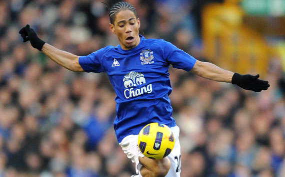 BPL, Everton and West Bromwich Albion, Steven Pienaar and Paul Scharner (Getty Images)