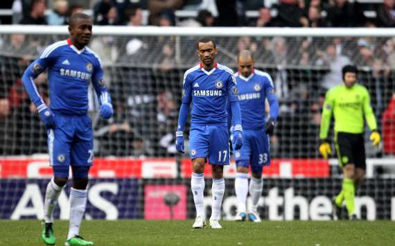EPL : Jose Bosingwa , Newcastle United v Chelsea(Getty Images)