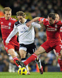 BPL, Tottenham Hotspur and Liverpool, Luka Modric and Jamie Carragher, (Getty Images)