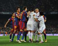 Cristiano Ronaldo, Pepe, Pique, Barcelona, Real Madrid (Getty Images)
