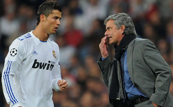 Cristiano Ronaldo & Josè Mourinho - Real Madrid (Getty Images)