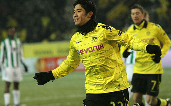 Real Madrid To Ponder Move For Borussia Dortmund's Shinji Kagawa – Report