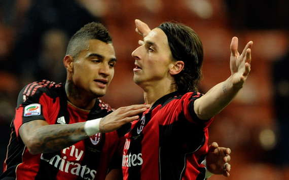 I thought Zlatan Ibrahimovic was an 'arrogant b*****d' - AC Milan's Kevin-Prince Boateng