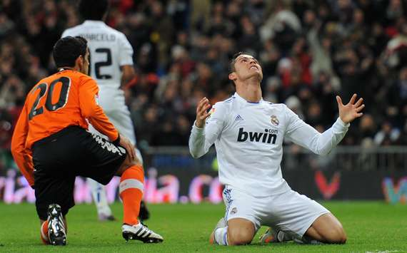 Cristiano Ronaldo, Valencia, Real Madrid (Getty Images)