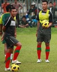 Latihan Timnas Indonesia (GOAL.com/Donny Afroni)