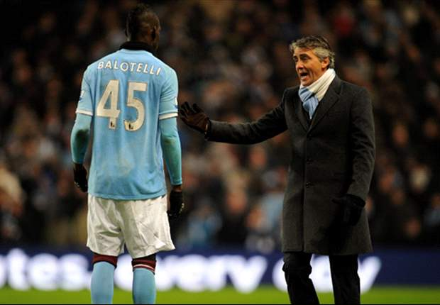 'We can put Mario Balotelli in jail' jokes Manchester City manager Roberto Mancini after spat with Rio Ferdinand &amp; Anderson at Wembley