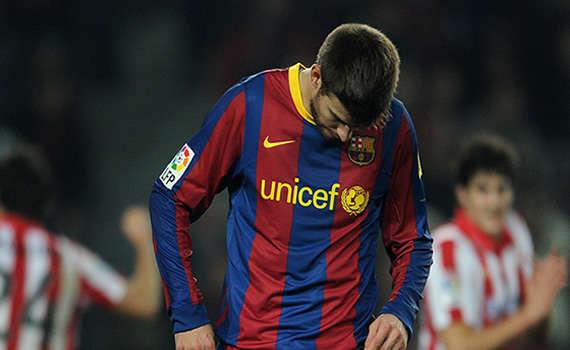 Copa del Rey: Gerard Pique (FC Barcelona) (Getty Images)