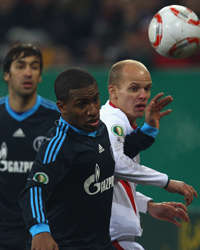 German Cup: Jefferson Farfan, Tobias Werner (Getty Images)