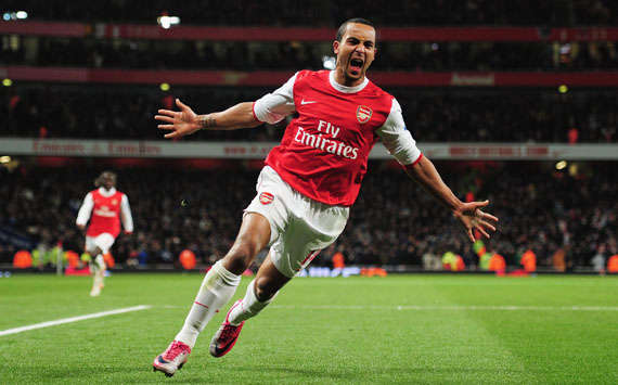 EPL - Arsenal vs Chelsea,Theo Walcott(Getty Images)