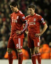 Steven Gerrard & Fernando Torres - Liverpool (Getty Images)