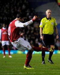 BPL, Birmingham City and Arsenal, Robin Van Persie (Getty Images)