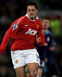 Javier Hernandez - Manchester United (Getty Images)