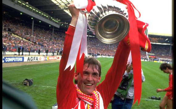 FA CUP,KENNY DALGLISH,LIVERPOOL VS EVERTON(Getty Images)