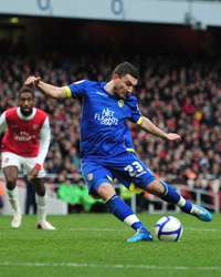 FA Cup ; Robert Snodgrass, Arsenal v Leeds United (Getty Images)