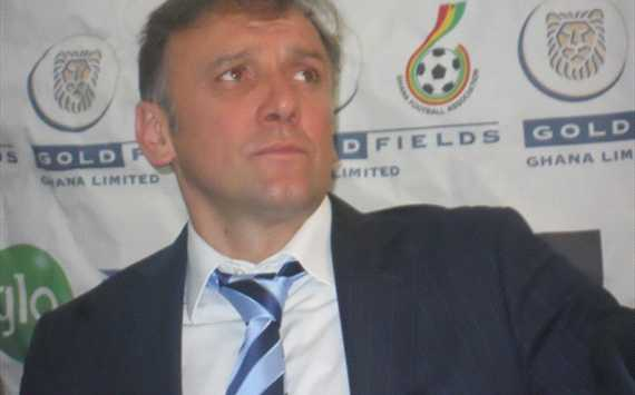 Ghana FA denies sacking Black Stars coach Goran Stevanovic