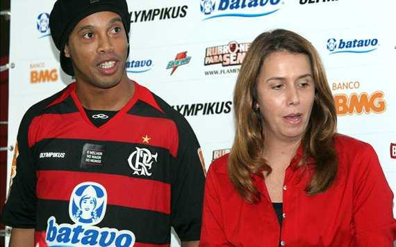Ronaldinho & Patrícia Amorim - Flamengo (Maurício Val/VIPCOMM)