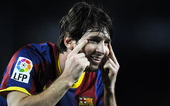 Lionel Messi - Barcelona (Getty Images)