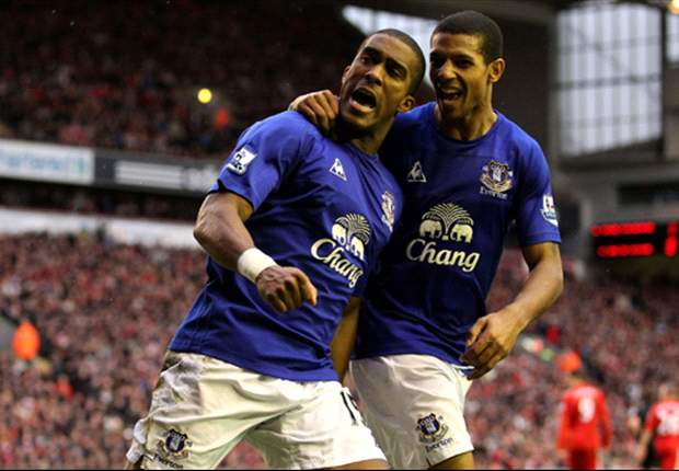 Everton defender Sylvain Distin pleased with team's reaction after Merseyside derby draw