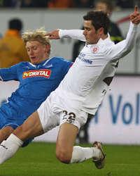 Bundesliga: TSG 1899 Hoffenheim - FC Stpauli, Andreas Beck; Fin Bartels (Getyt Images)